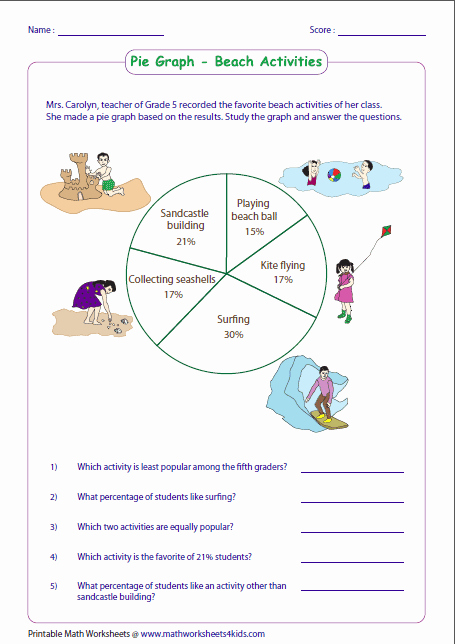 Circle Graphs Worksheets 7th Grade Inspirational Data In the Media Lessons Tes Teach