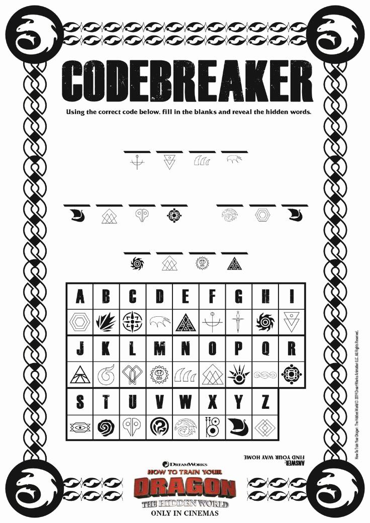 Code Breaker Worksheet Beautiful Printable Code Breakers for Kids