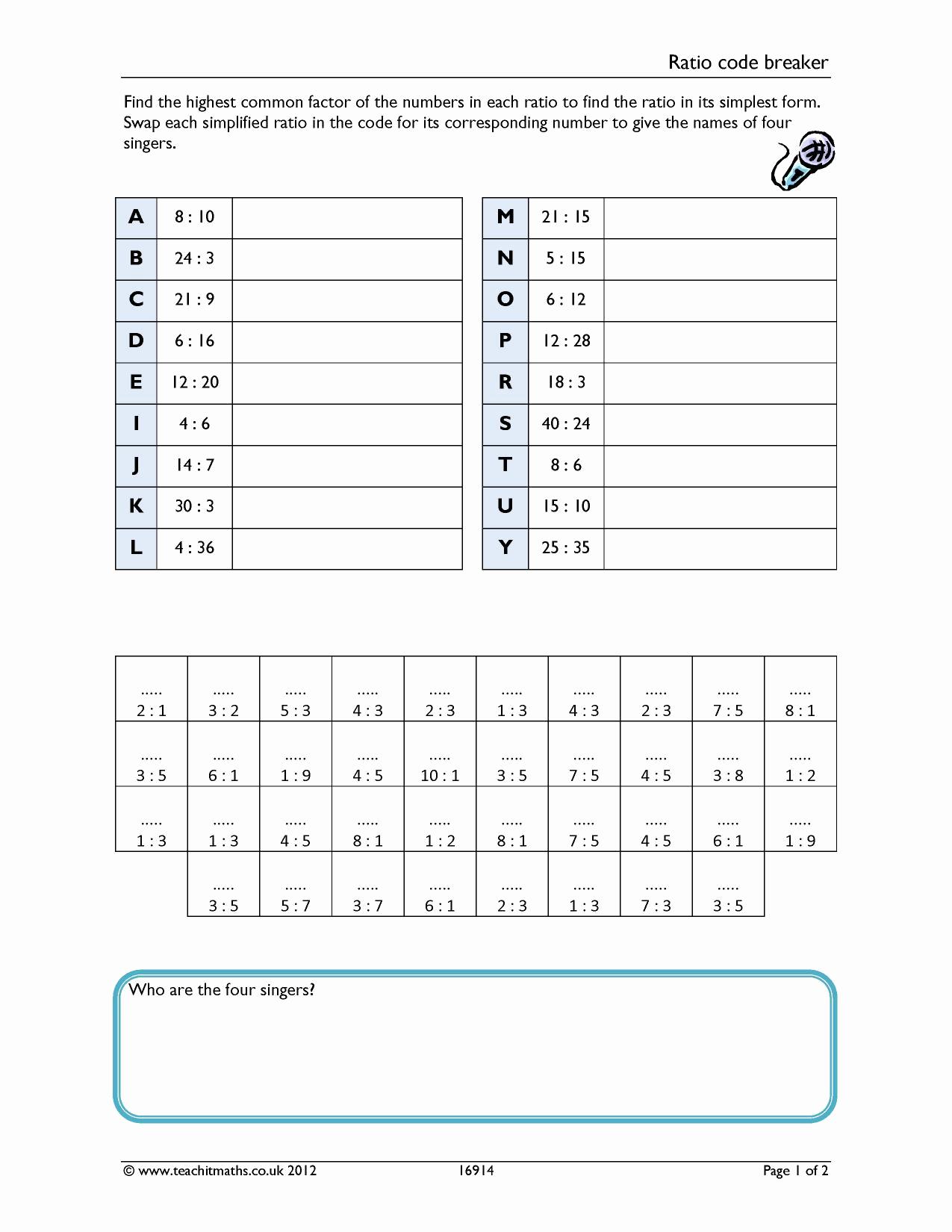 Code Breaker Worksheet Unique Negative Numbers Code Breaker Worksheet
