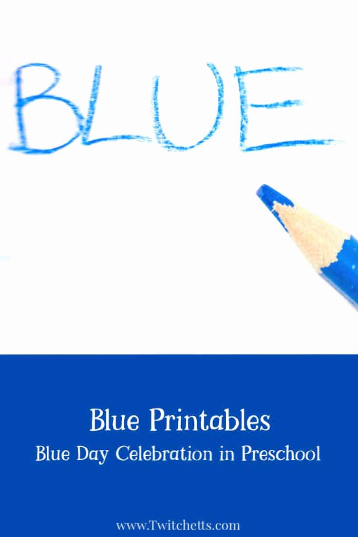 Color Blue Worksheets for Preschool Beautiful Color Blue Worksheets for Preschool Twitchetts