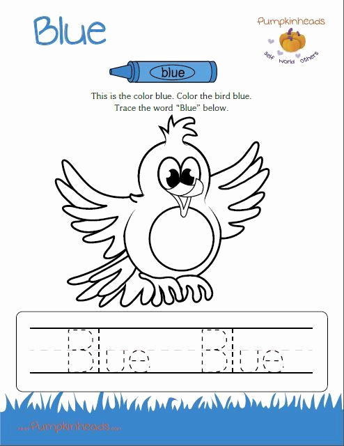 Color Blue Worksheets for Preschool Fresh Check Out Our Worksheets for the Classroom and at Home