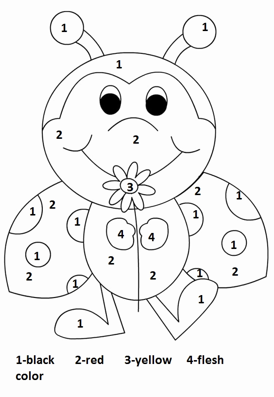 Color by Number Worksheets Kindergarten Lovely Crafts Actvities and Worksheets for Preschool toddler and