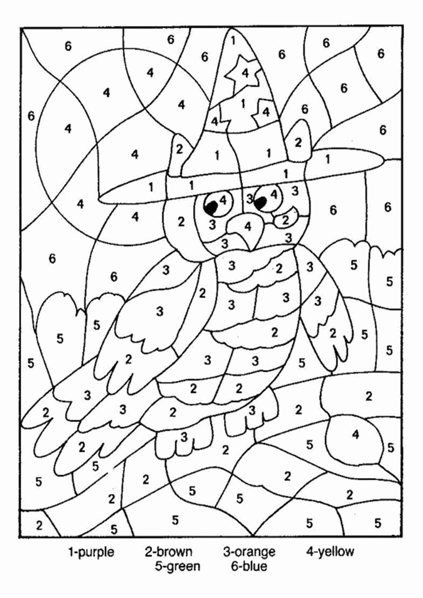 Color by Number Worksheets Kindergarten New Free Printable Color by Number Worksheets for Kindergarten