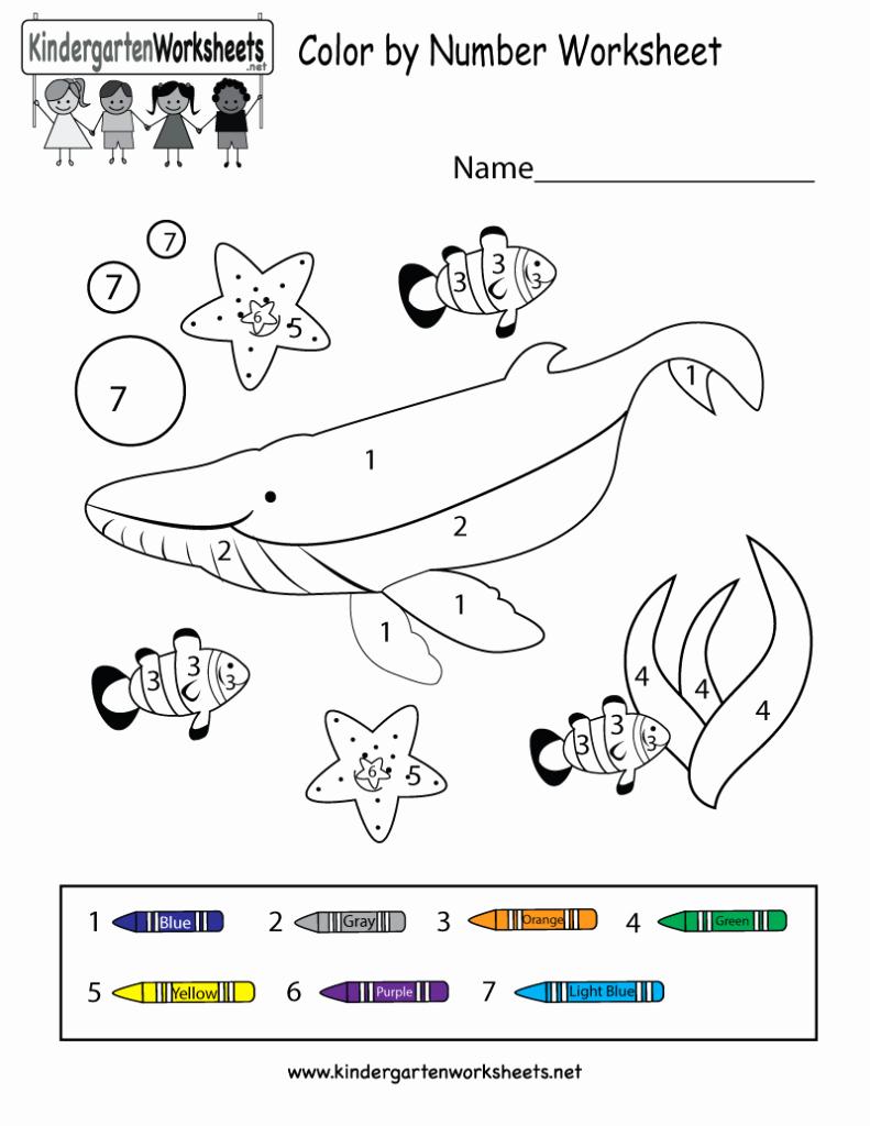 Color by Number Worksheets Kindergarten Unique Coloring Pages Color by Number Worksheet Free