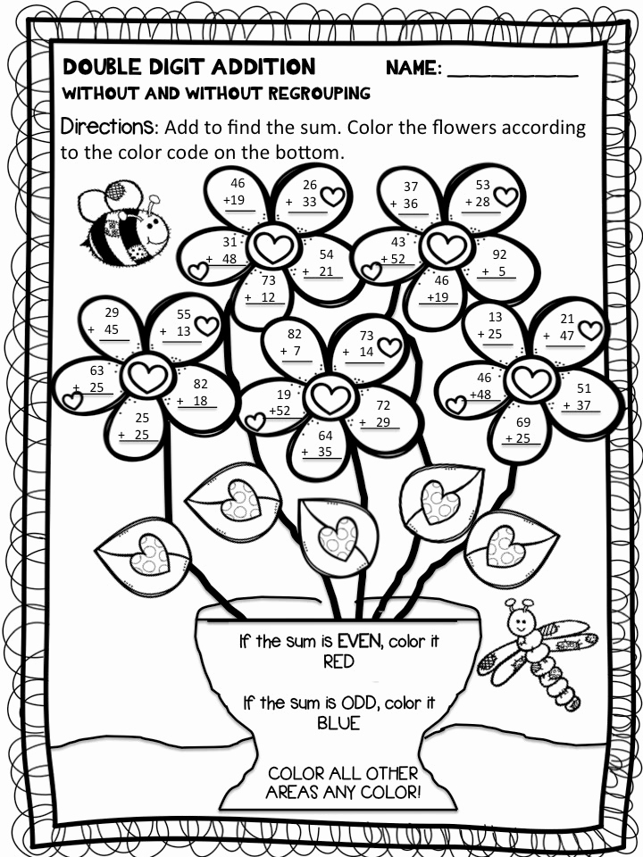 Coloring Addition Worksheet Lovely Color by Number Addition Best Coloring Pages for Kids