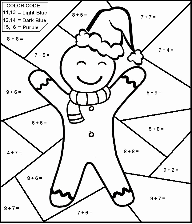 Coloring Addition Worksheet Unique Math Coloring Pages Best Coloring Pages for Kids