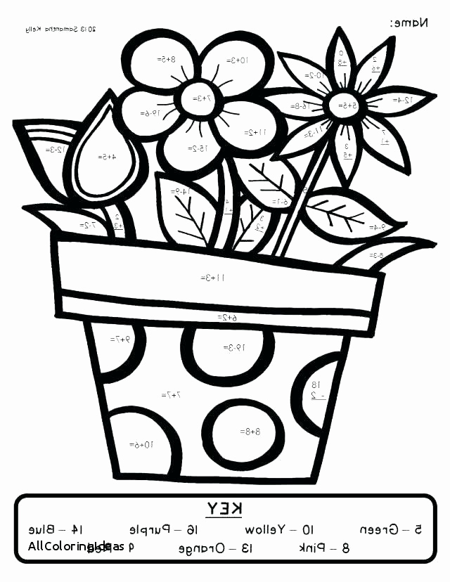 Coloring Math Worksheets 2nd Grade Awesome Math Coloring Pages 2nd Grade at Getcolorings