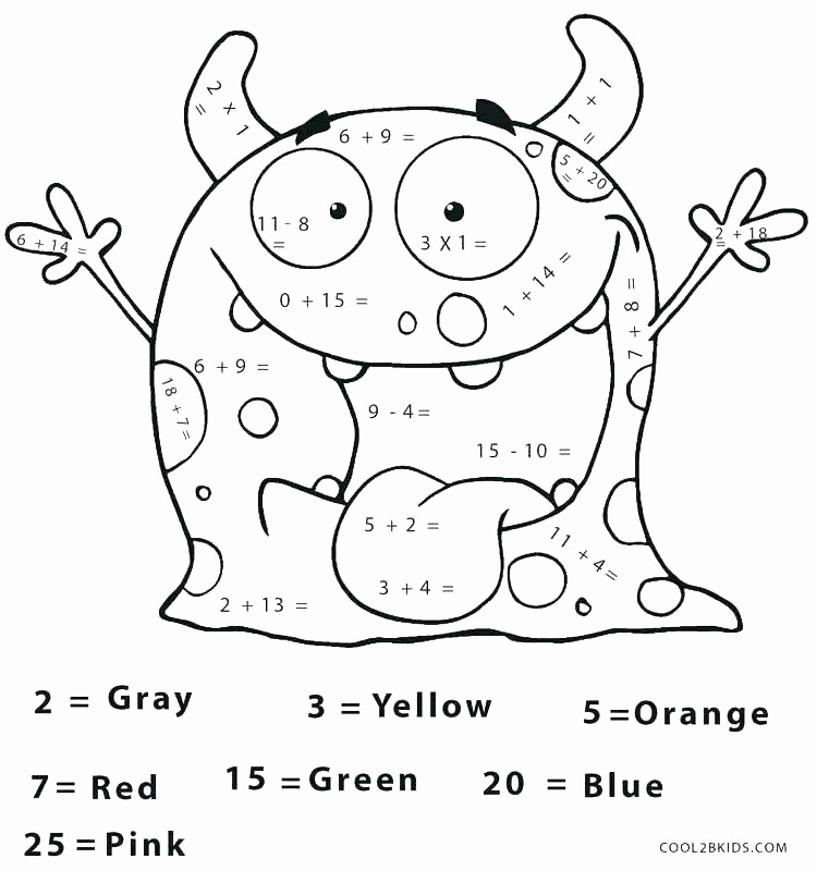 Coloring Math Worksheets 2nd Grade Fresh Coloring Pages Second Grade at Getcolorings