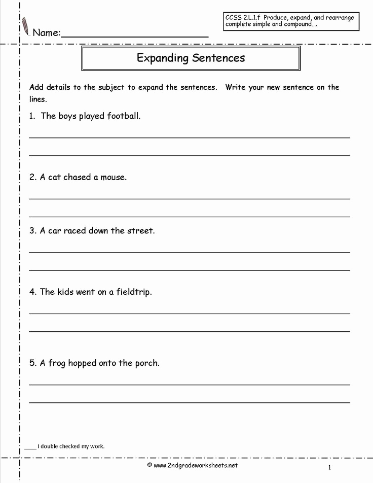 Combining Sentences Worksheets 5th Grade Lovely Bining Sentences Worksheets 5th Grade Copy Sentence