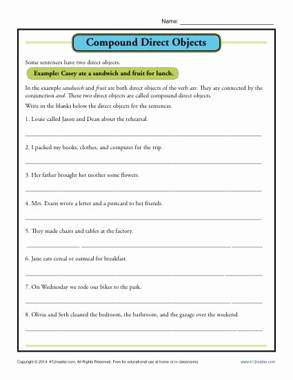 Combining Sentences Worksheets 5th Grade Unique 20 Bining Sentences Worksheet 5th Grade
