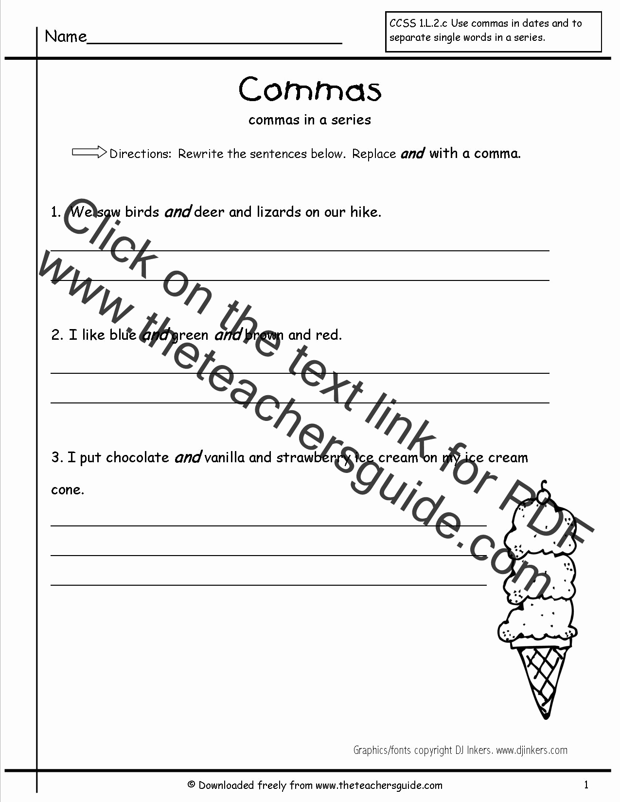 Commas Worksheet 4th Grade Best Of 20 Mas Worksheet 4th Grade