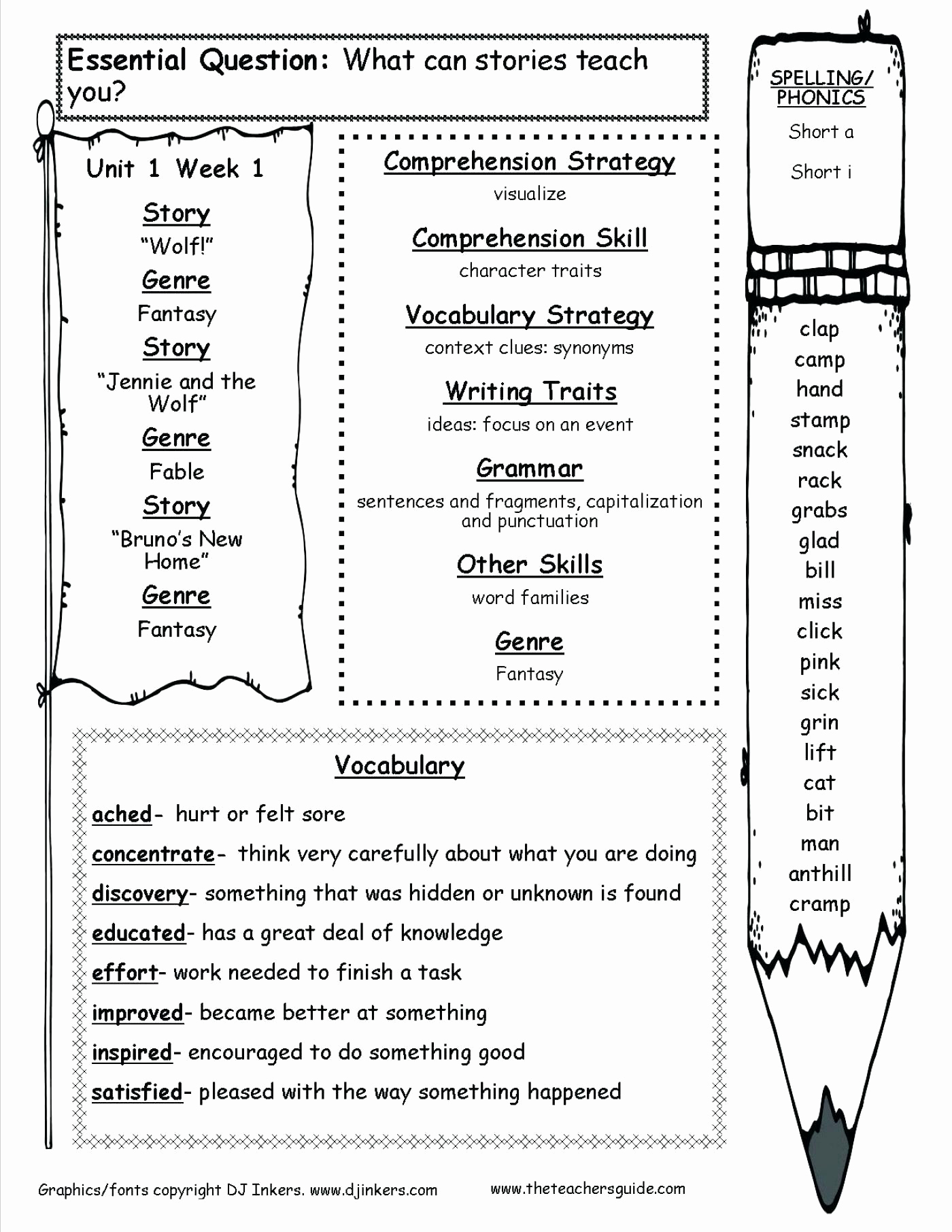 Commas Worksheet 4th Grade Inspirational Printable Free Grammar Worksheets Fourth Grade 4