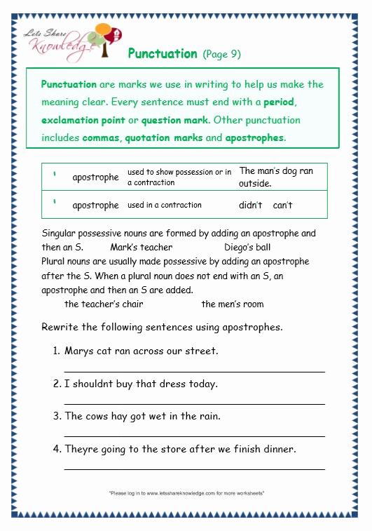 Commas Worksheet 5th Grade Lovely 20 Mas Worksheet 5th Grade