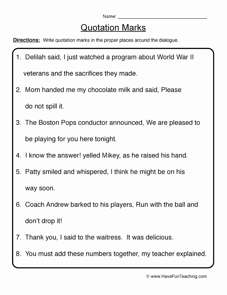 Commas Worksheet 5th Grade New Mas Worksheets 5th Grade Resources Punctuation