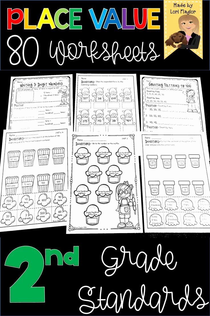 Common Core Worksheets Place Value Inspirational Place Value 2nd Grade Standards