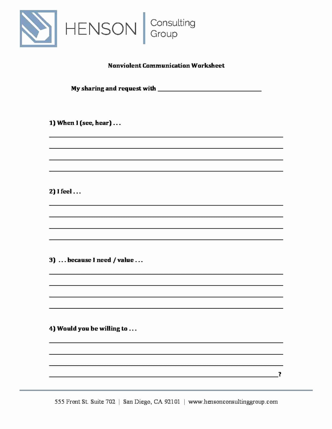 Communication Worksheets for Adults Best Of Munication Worksheets for Adults Pdf — Db Excel