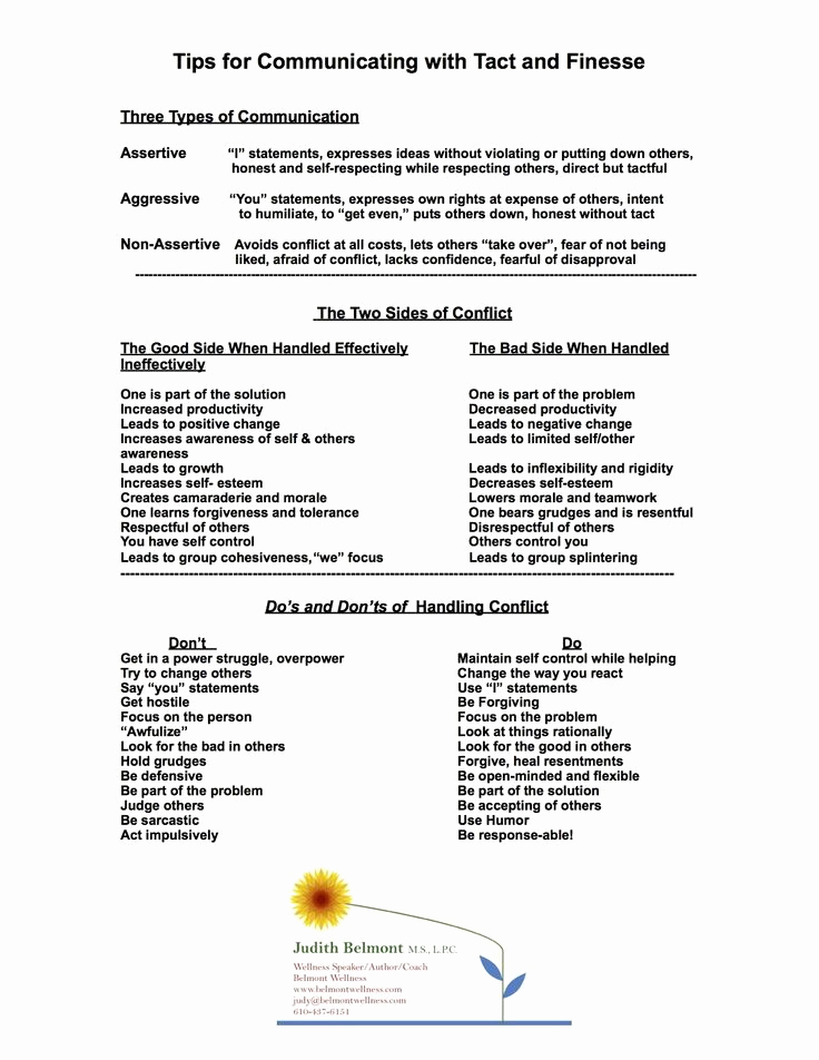 Communication Worksheets for Adults Inspirational Munication Skills Worksheets for Adults Google Search