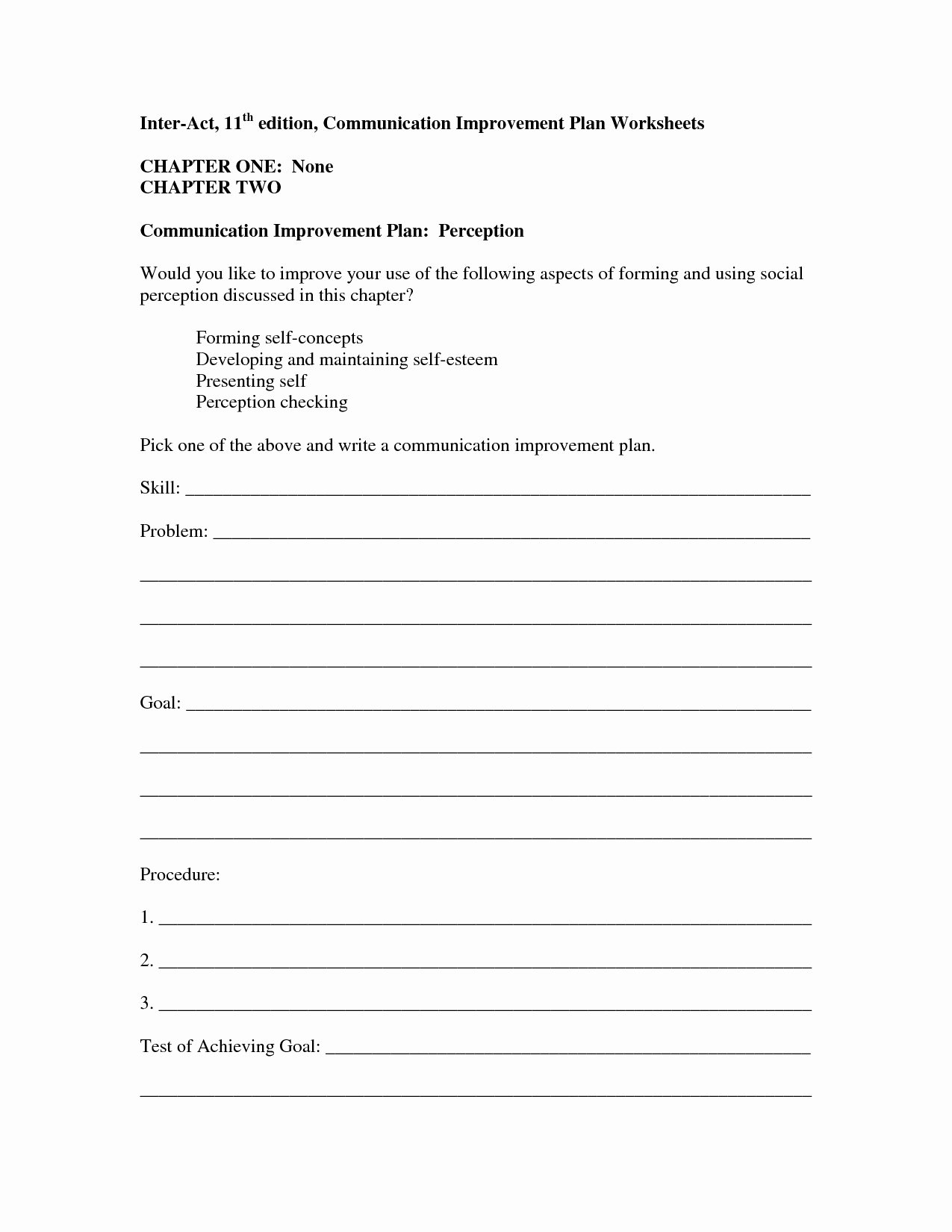Communication Worksheets for Adults Unique 13 Best Of Positive Munication Worksheets