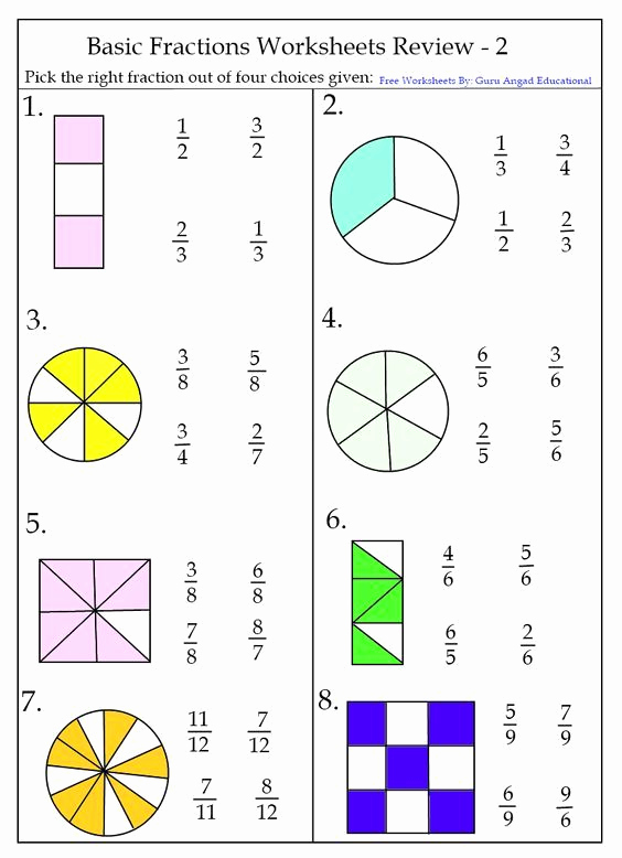 Comparing Fractions Third Grade Worksheet Unique Free Printable Equivalent Fraction Worksheets 3rd Grade