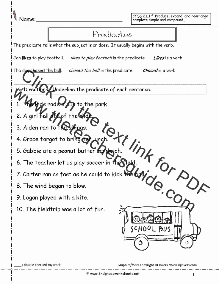 Complex Sentence Worksheets 3rd Grade Inspirational Bining Sentences Worksheet 3rd Grade Plex Sentences