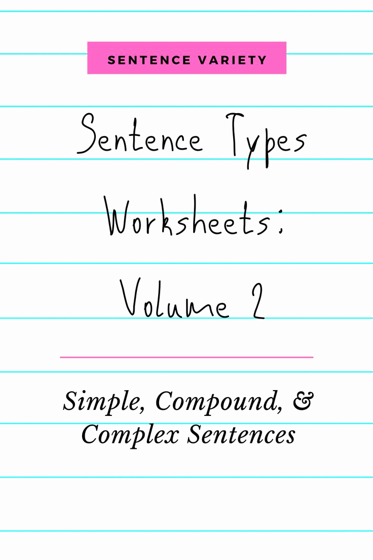 Complex Sentences Worksheets with Answers New Simple Pound Plex Sentence Worksheets Printable