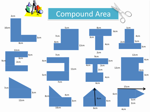 Compound area Worksheets Inspirational Pound area Worksheet