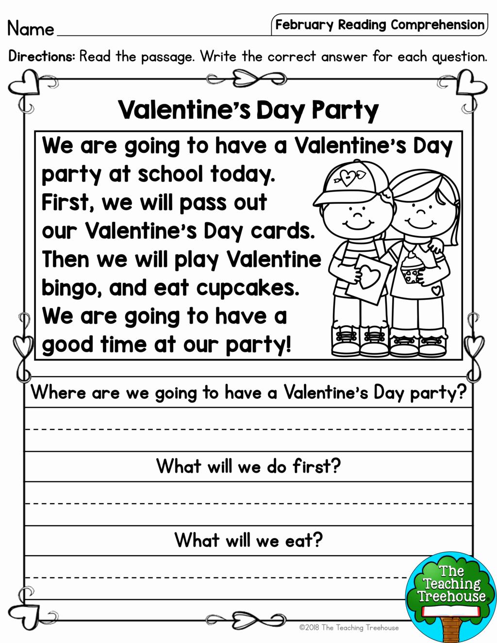 Comprehension Worksheet First Grade New 1st Grade Reading Prehension Worksheets Multiple Choice