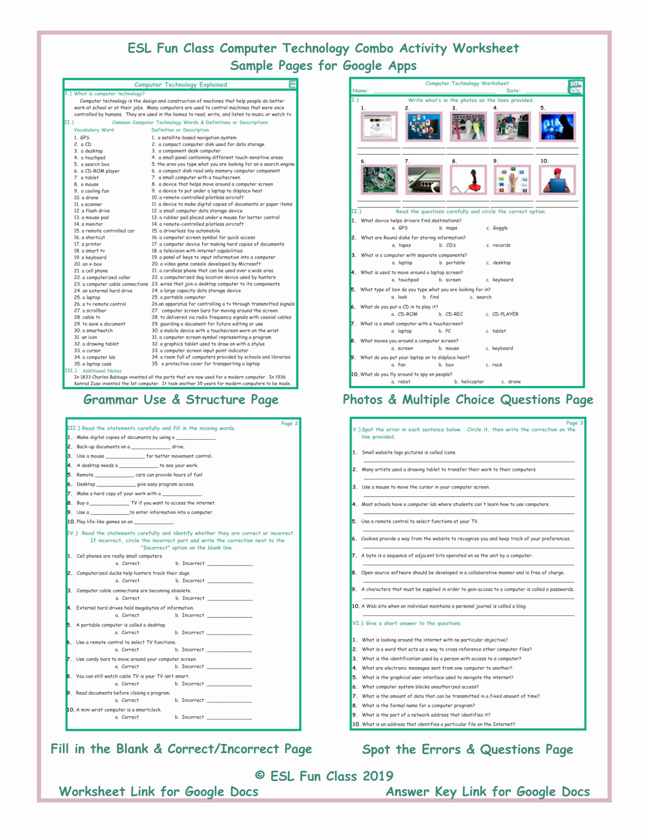 Computer Worksheets for Middle School Awesome 20 Puter Worksheets for Middle School
