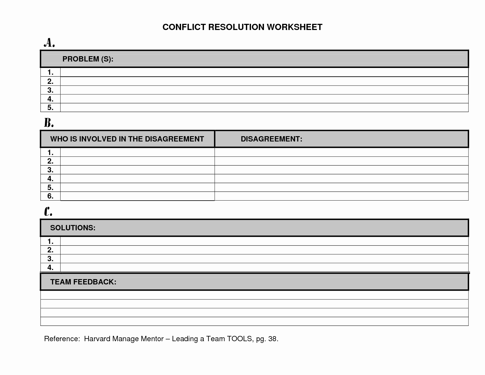 Conflict Worksheets Pdf New 11 Best Of Free Printable Conflict Resolution