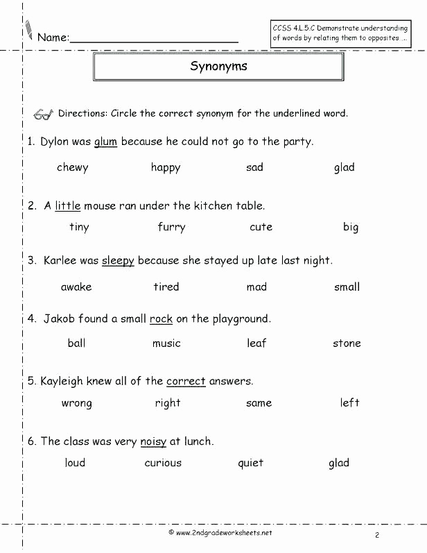 Context Clues 5th Grade Worksheets Beautiful 5th Grade Context Clues Worksheets Context Clues Snapshot