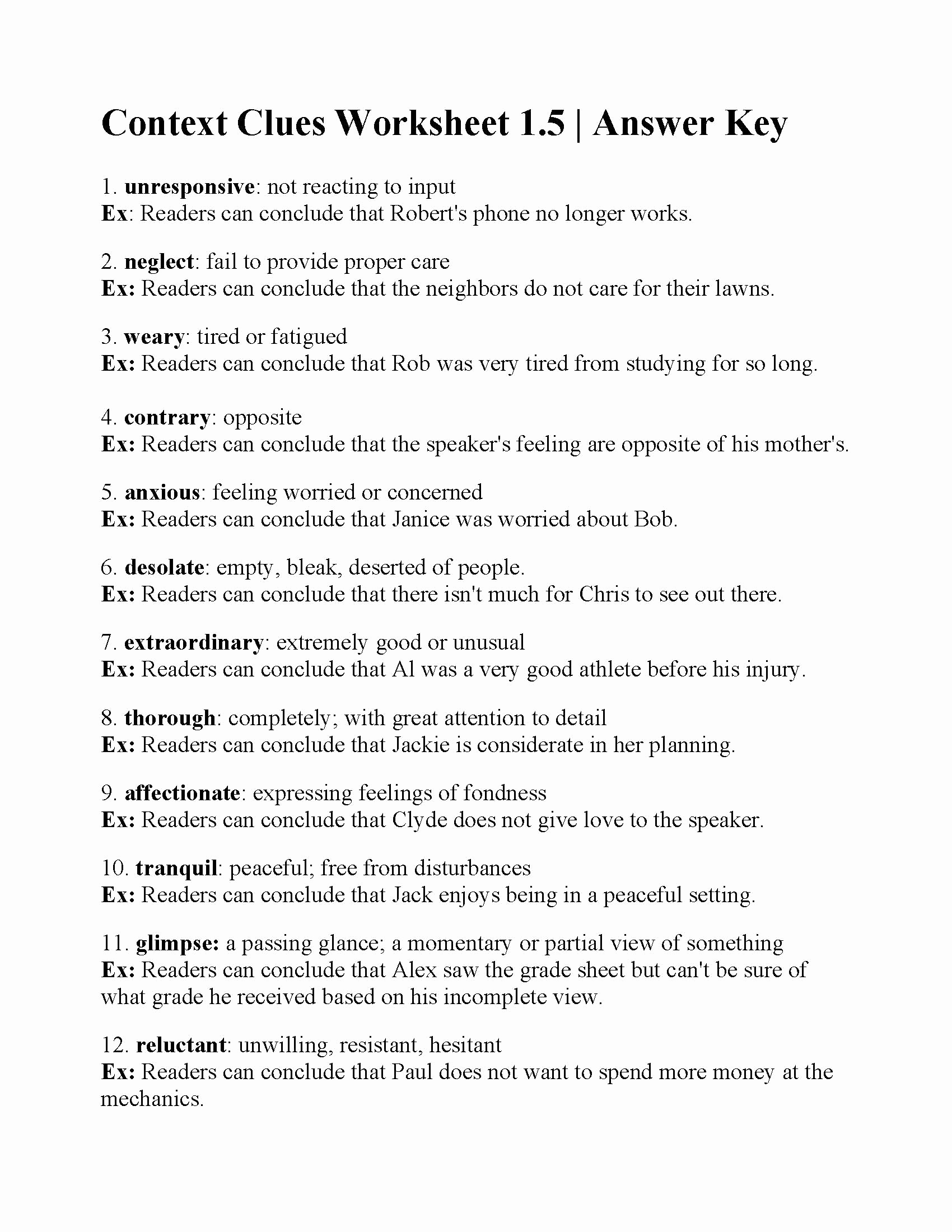 Context Clues 5th Grade Worksheets Best Of Worksheet Context Clues Advanced P Worksheets for Kids