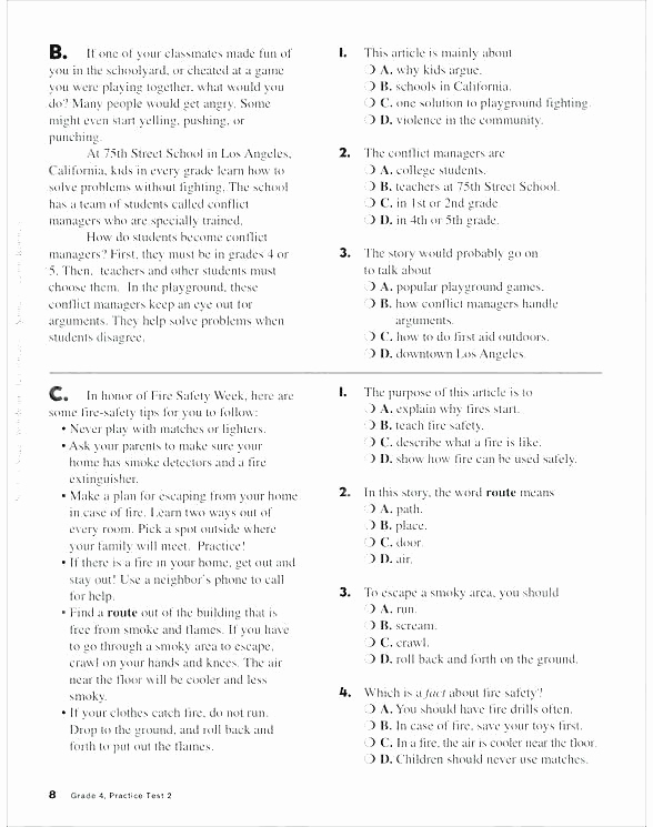 Context Clues 5th Grade Worksheets Lovely Context Clues 5th Grade Worksheets Main Idea Worksheets