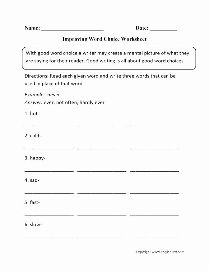 Context Clues 5th Grade Worksheets New 5th Grade Context Clues Worksheets Multiple Choice Context