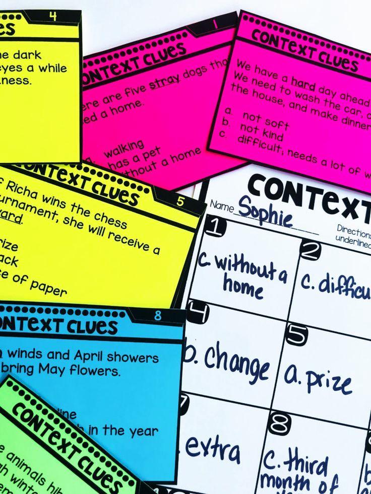 Context Clues Worksheets 1st Grade Fresh Context Clues