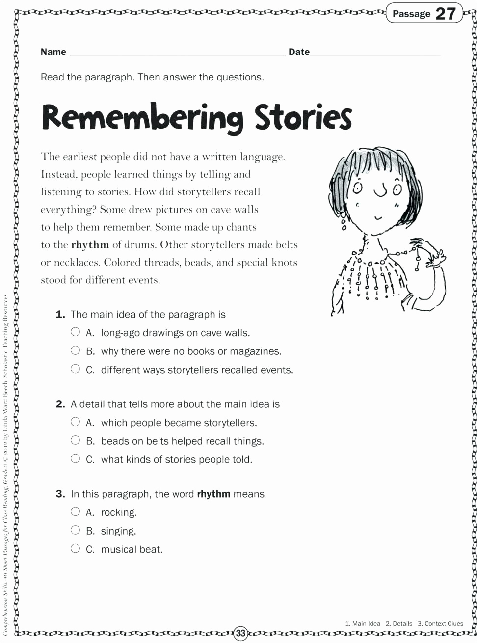Context Clues Worksheets 1st Grade Lovely 20 Context Clues Worksheets 1st Grade