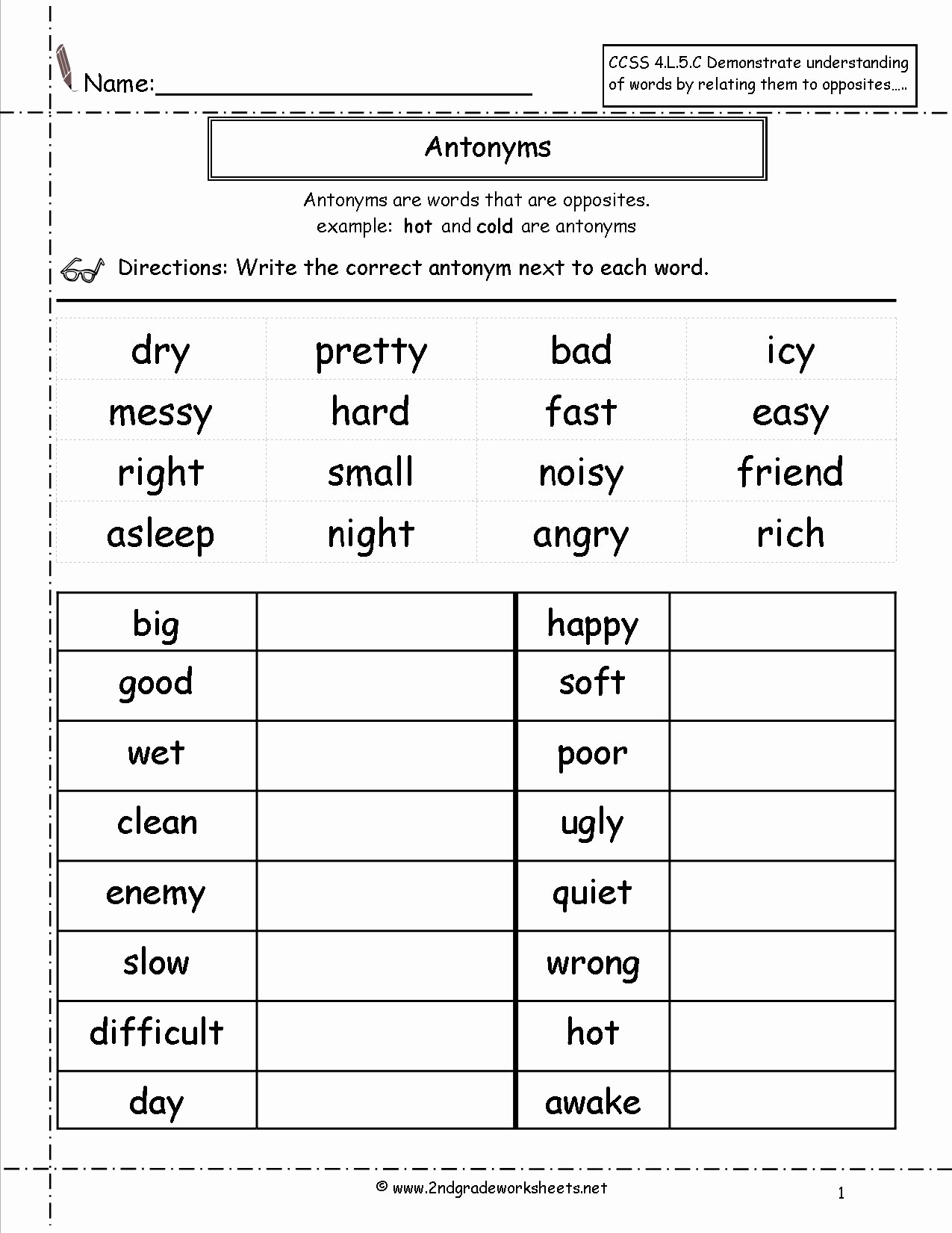 Context Clues Worksheets Second Grade Fresh Context Clues Worksheet Writing Part 1 Intermediate