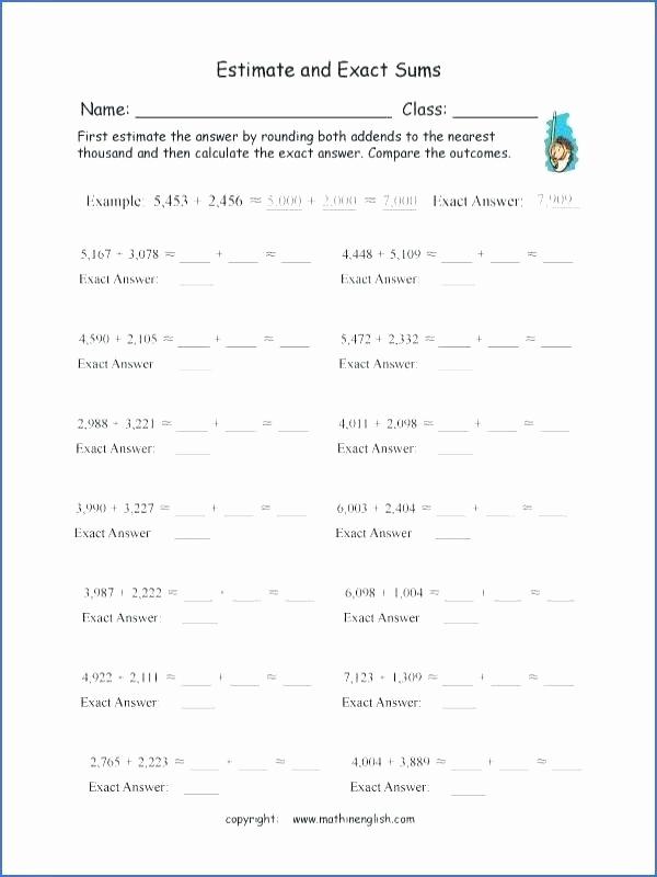 Conversion Worksheets 5th Grade Luxury Math Conversion Worksheets 5th Grade Measurement