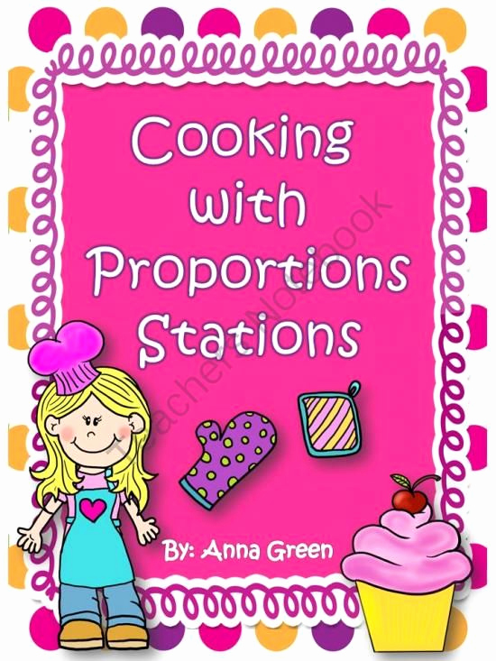 Cooking Worksheets for Middle School Inspirational Cooking with Proportions Stations Math Centers From Fun
