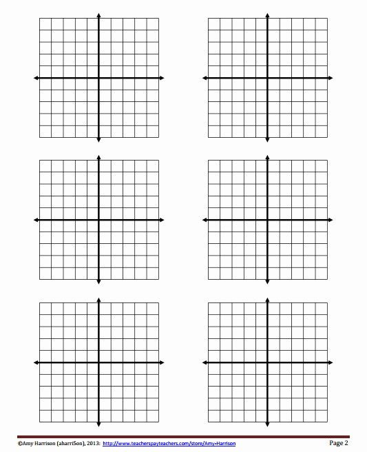 Coordinate Grid Worksheets Pdf Elegant Blank Coordinate Planes Reproducible My Math Resources