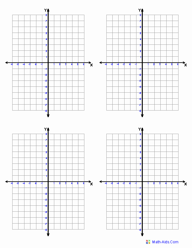 Coordinate Grid Worksheets Pdf Inspirational Four Quadrants 4 Per Page and Worksheets On All topics