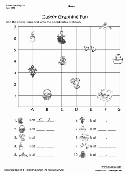 Coordinate Grids Worksheets 5th Grade Unique 12 Best Of Coordinate Graphing Worksheets 5th Grade