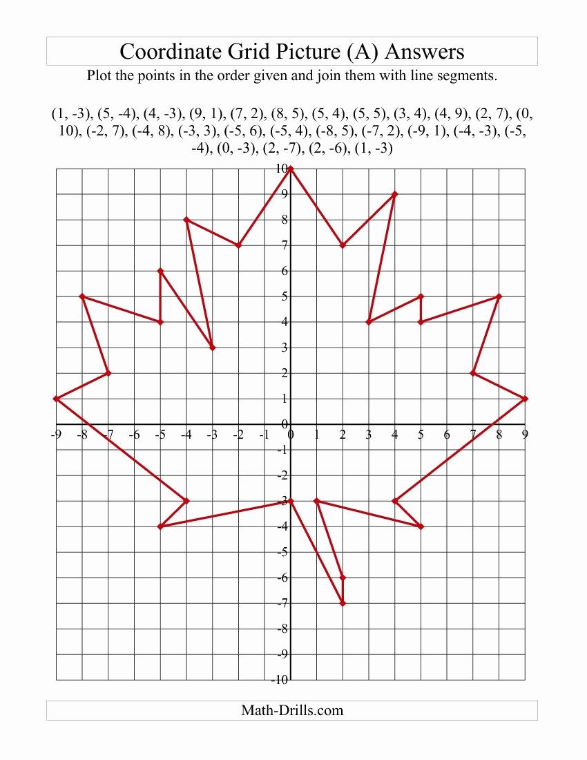 Coordinate Pictures Worksheet Best Of Free Printable Coordinate Graphing Worksheets