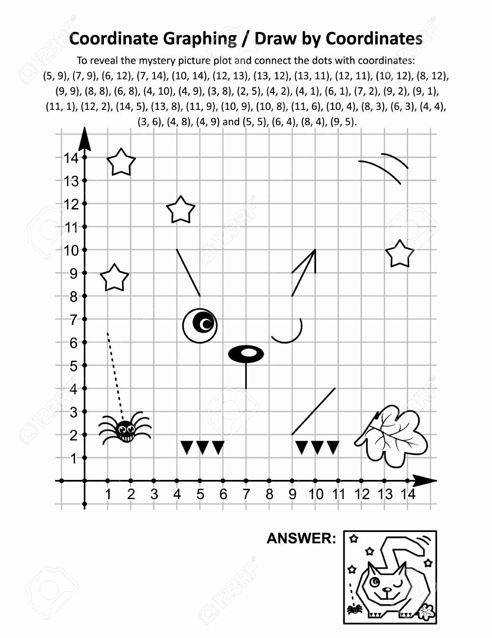 Coordinate Pictures Worksheet Elegant Free Printable Coordinate Graphing Worksheets