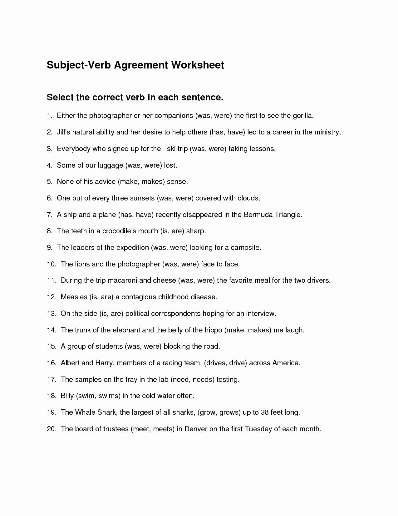 Correlative Conjunctions Worksheet 5th Grade Inspirational 20 Correlative Conjunctions Worksheet 5th Grade