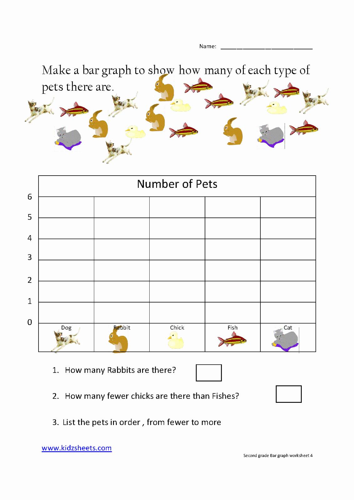 Creating Bar Graph Worksheets Awesome Kidz Worksheets Second Grade Bar Graph Worksheet4