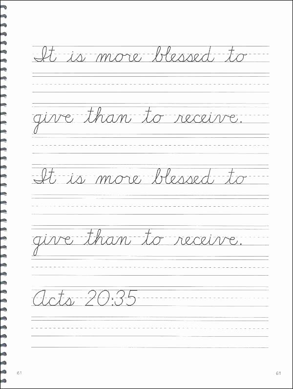 Cursive Sentences Worksheets Printable Beautiful Cursive Sentences Worksheets Printable First Grade Writing