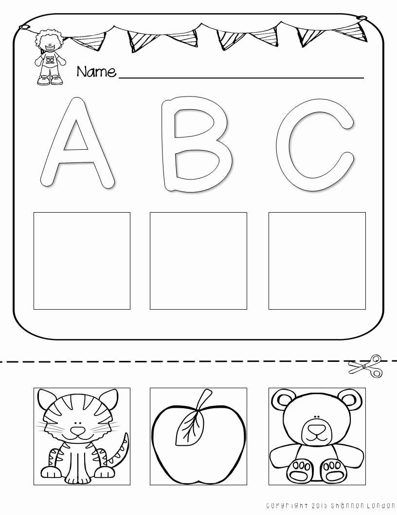 Cut and Paste Worksheets Free Awesome Letter Worksheets Cut and Paste Printables the Super