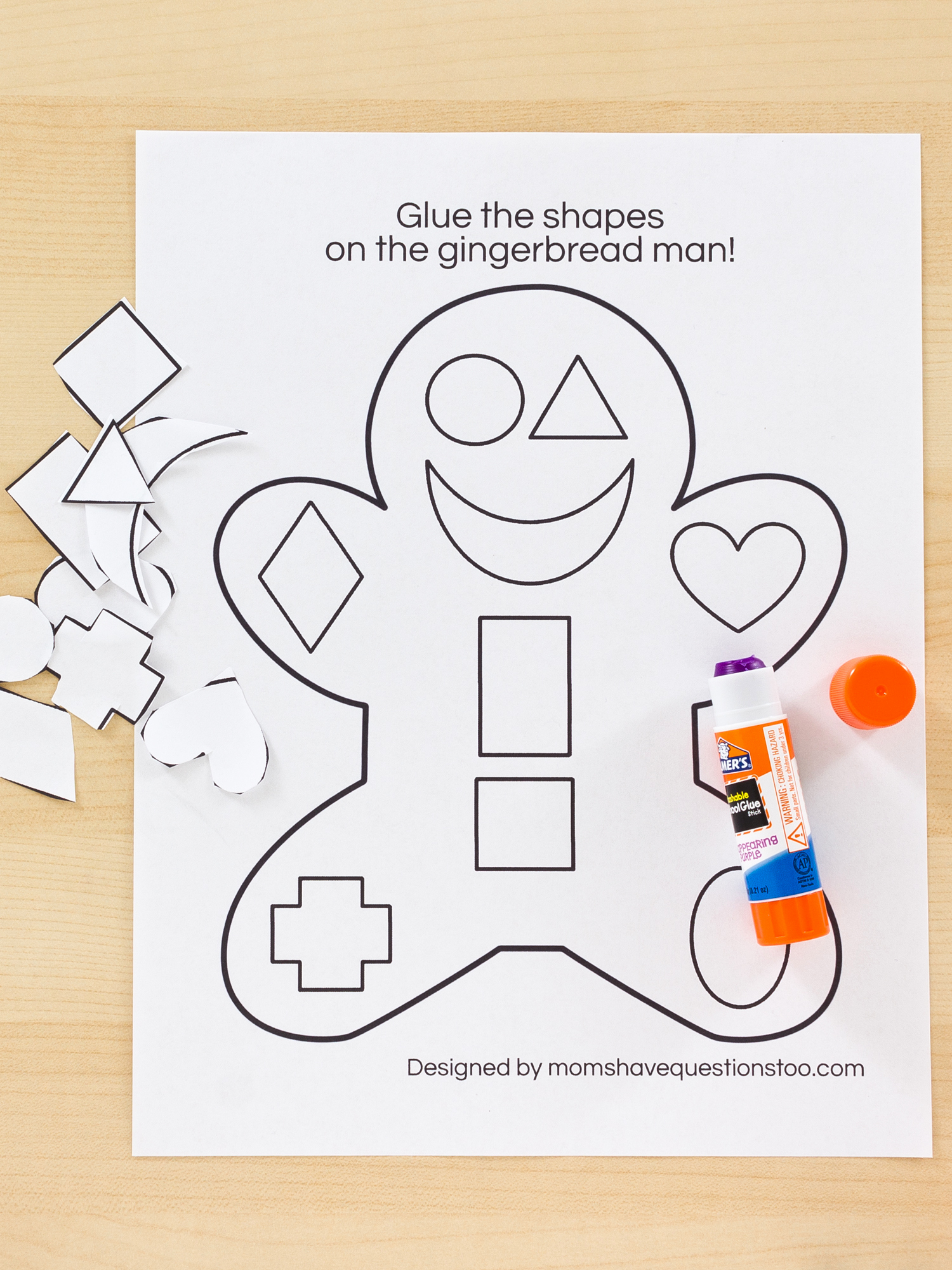 Cut and Paste Worksheets Free Beautiful $1 99 Cut and Paste Activity Pack Moms Have Questions too