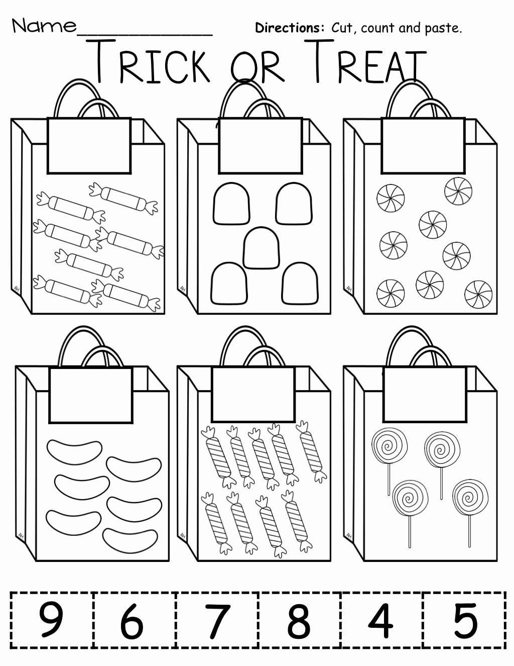 Cut and Paste Worksheets Free Lovely Color Cut and Paste Worksheets