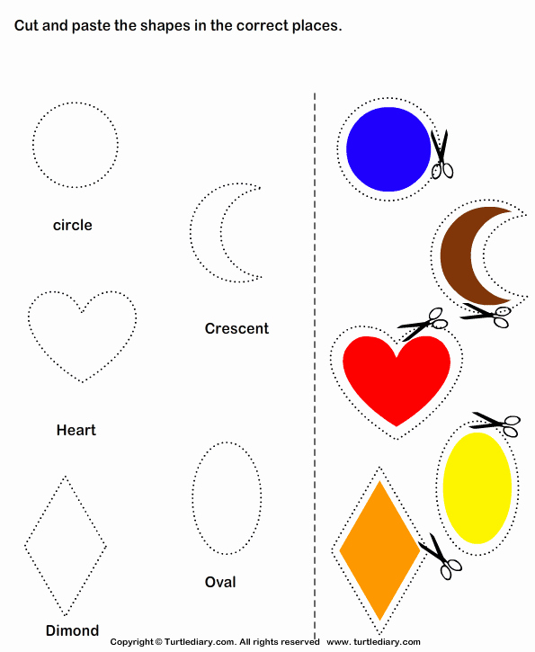 Cut and Paste Worksheets Free New Art and Craft Activities for Kindergarten